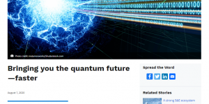 Bringing you the quantum future - faster