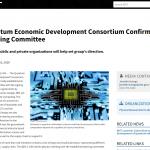 Quantum Economic Development Consortium Confirms Steering Committee