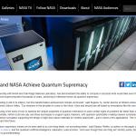 Google and NASA Achieve Quantum Supremacy