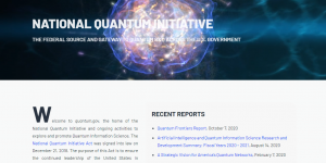 Trump Administration Announces Quantum.Gov and Quantum Frontiers Report