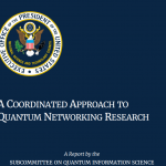 A Coordinated Approach to Quantum Networking Research
