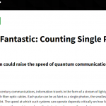 NIST Count Single Photons