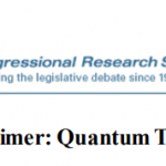 CRS Releases Defense Primer on Quantum Technology