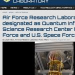 AFRL Designated as a QIS Research Center